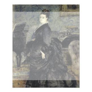 Portrait of a Woman by Pierre-Auguste Renoir Flyer