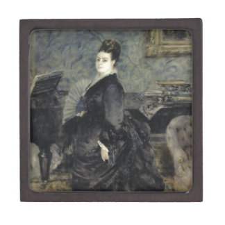 Portrait of a Woman by Pierre-Auguste Renoir Premium Keepsake Box