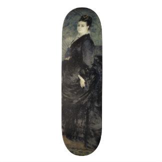 Portrait of a Woman by Pierre-Auguste Renoir Skateboard Deck