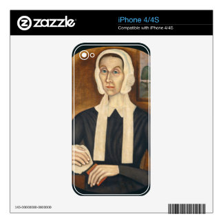 Portrait of a Woman, c. 1845 (oil on canvas) Skin For iPhone 4