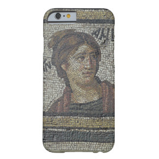 Portrait of a woman, detail of a mosaic pavement d barely there iPhone 6 case
