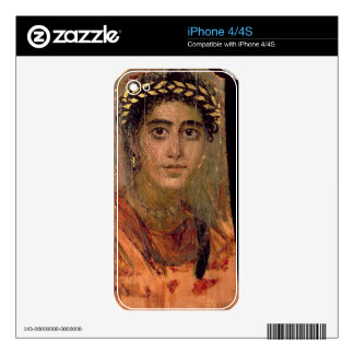 Portrait of a Woman, from Fayum, Romano-Egyptian, iPhone 4 Skin