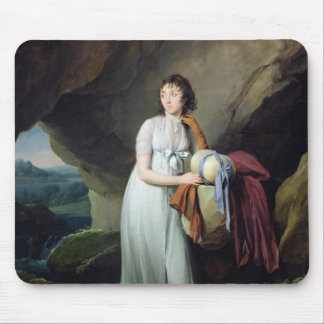 Portrait of a Woman in a Cave Mouse Pad