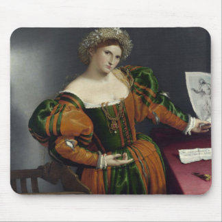 Portrait of a Woman Inspired by Lucretia Mousepad
