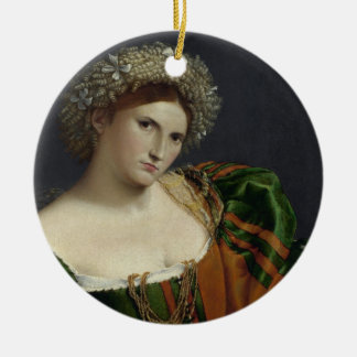 Portrait of a Woman Inspired by Lucretia Ornament