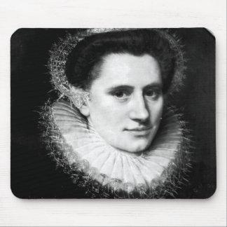 Portrait of a woman mouse pad