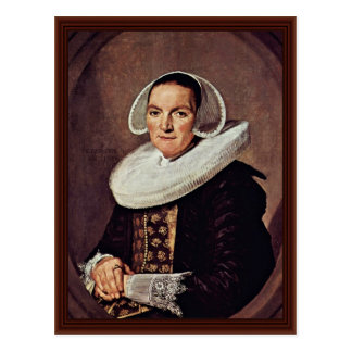 Portrait Of A Woman Of About Forty Postcard