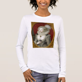 Portrait of a woman, possibly Frances Cotton, Lady Long Sleeve T-Shirt