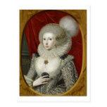 Portrait of a woman, possibly Frances Cotton, Lady Postcard