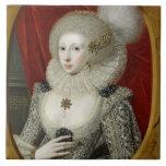 Portrait of a woman, possibly Frances Cotton, Lady Tile