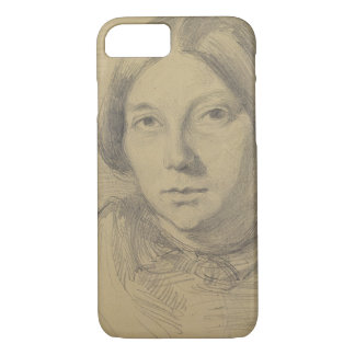 Portrait of a woman, possibly George Sand (1804-76 iPhone 8/7 Case