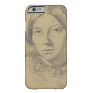 Portrait of a woman, possibly George Sand (1804-76 iPhone 6 Case