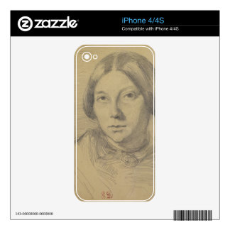 Portrait of a woman, possibly George Sand (1804-76 Skin For The iPhone 4S