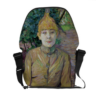 Portrait of a woman, possibly the French dancer Lo Courier Bag