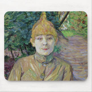 Portrait of a woman, possibly the French dancer Lo Mouse Pad
