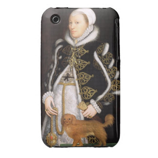 Portrait of a Woman, probably Catherine Carey, Lad Case-Mate iPhone 3 Cases