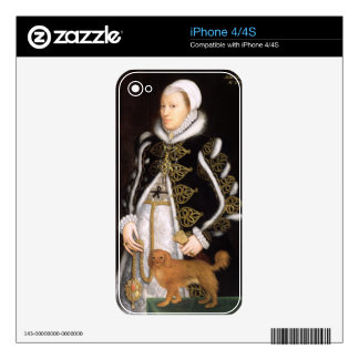 Portrait of a Woman, probably Catherine Carey, Lad Decal For The iPhone 4
