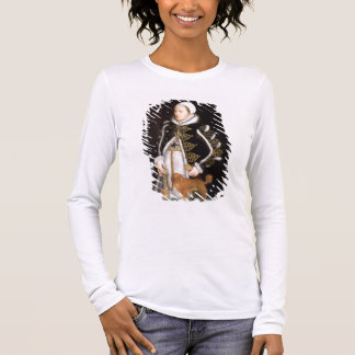 Portrait of a Woman, probably Catherine Carey, Lad Long Sleeve T-Shirt