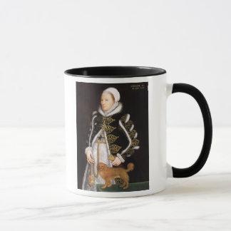 Portrait of a Woman, probably Catherine Carey, Lad Mug