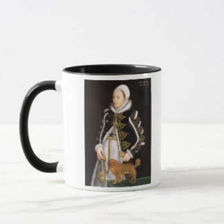 Portrait of a Woman, probably Catherine Carey, Lad Mug