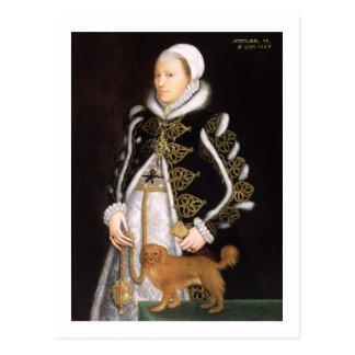 Portrait of a Woman, probably Catherine Carey, Lad Postcard