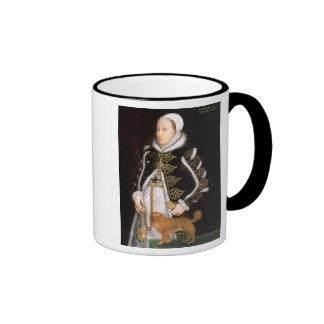 Portrait of a Woman, probably Catherine Carey, Lad Ringer Mug
