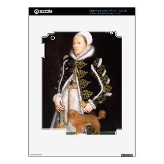 Portrait of a Woman, probably Catherine Carey, Lad Skins For iPad 3
