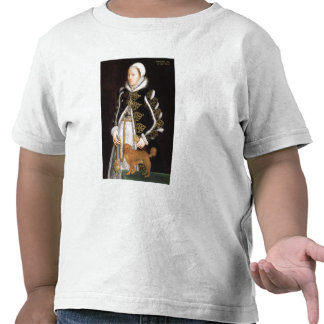 Portrait of a Woman, probably Catherine Carey, Lad Tee Shirt