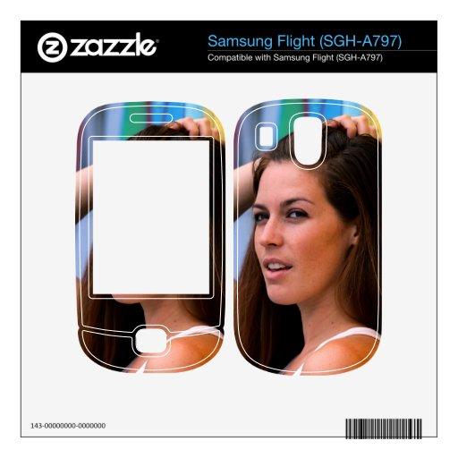Portrait Of A Woman Samsung Flight Decal