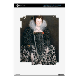 Portrait of a Woman, traditionally identified as M iPad 3 Skin