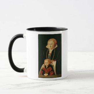 Portrait of a Woman with her Daughter Mug