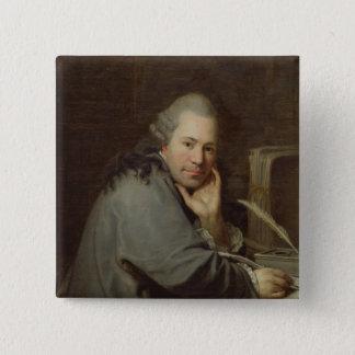 Portrait of a Writer, 1772 Button