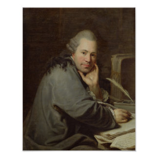Portrait of a Writer, 1772 Poster