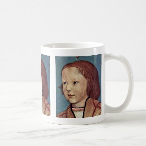 Portrait Of A Youings Boy With Blonde Hair Classic White Coffee Mug