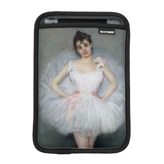 Portrait of a Young Ballerina iPad Mini Sleeves