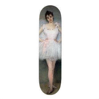 Portrait of a Young Ballerina Skateboard