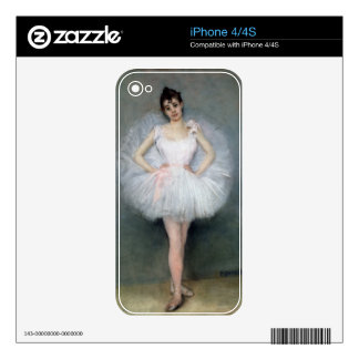 Portrait of a Young Ballerina Skin For The iPhone 4