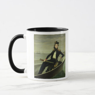 Portrait of a Young Danish Naval Officer, 1841 Mug