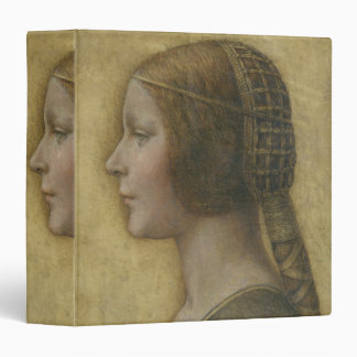 Portrait of a Young Fiancee by Leonardo da Vinci Binder