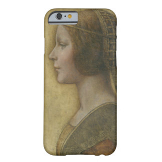 Portrait of a Young Fiancee by Leonardo da Vinci Barely There iPhone 6 Case
