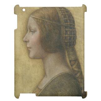 Portrait of a Young Fiancee by Leonardo da Vinci Case For The iPad