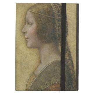 Portrait of a Young Fiancee by Leonardo da Vinci iPad Air Cover