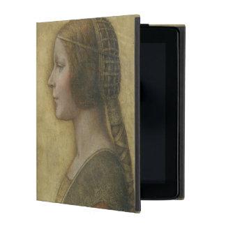 Portrait of a Young Fiancee by Leonardo da Vinci iPad Folio Case