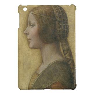 Portrait of a Young Fiancee by Leonardo da Vinci iPad Mini Case