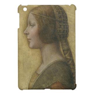 Portrait of a Young Fiancee by Leonardo da Vinci iPad Mini Cases