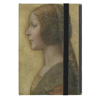 Portrait of a Young Fiancee by Leonardo da Vinci iPad Mini Cover