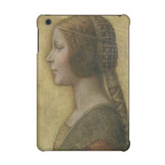 Portrait of a Young Fiancee by Leonardo da Vinci iPad Mini Retina Covers
