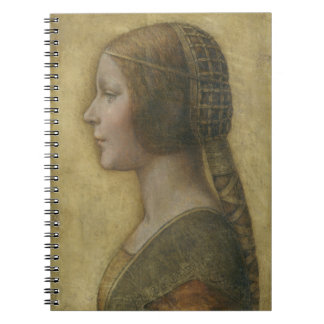 Portrait of a Young Fiancee by Leonardo da Vinci Notebook