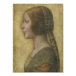 Portrait of a Young Fiancee by Leonardo da Vinci Photo Print