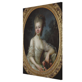 Portrait of a Young Girl, 1775 Canvas Print